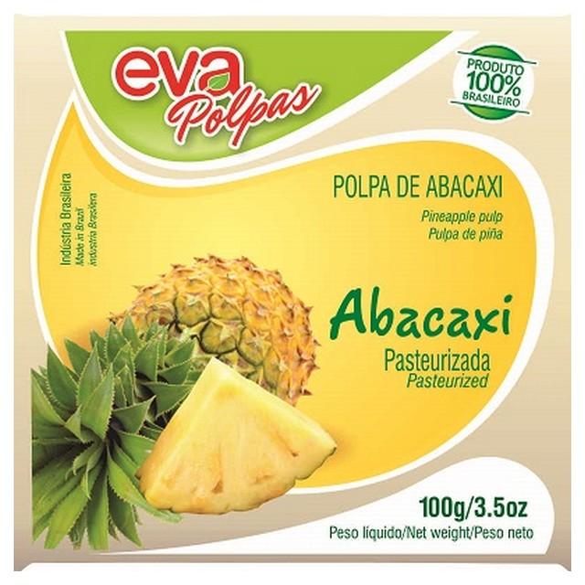 POLPA ABACAXI EVA 100G