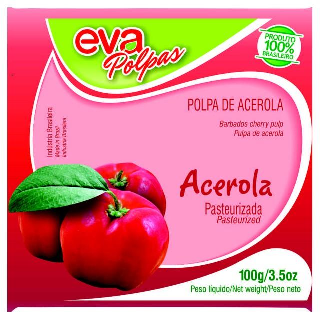 POLPA ACEROLA EVA 100G