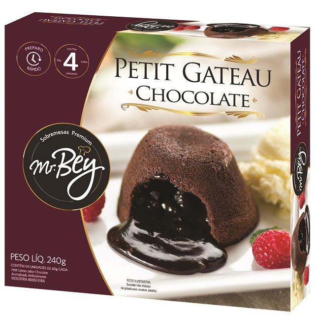 MB PETIT GATEAU CHOCOLATE  240G