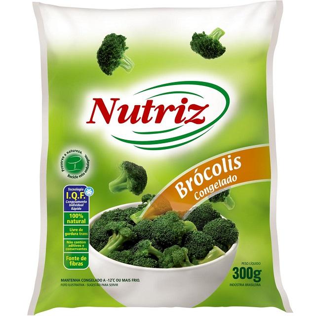 BROCOLIS NAO COZIDO NUTRIZ 300G
