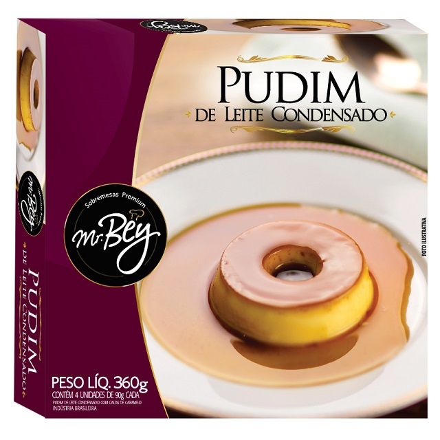 PUDIM DE LEITE MR BEY 90G