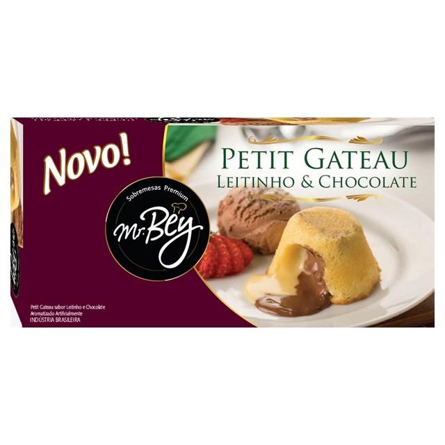 PETIT GATEAU LEITE NINHO C/ CHOC MR BEY 80G