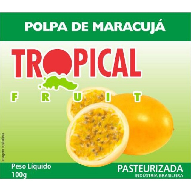 POLPA MARACUJA TROPICAL 100G