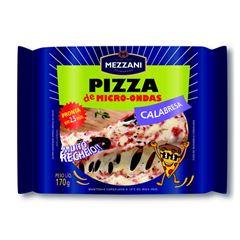 PIZZA MICRO CALABRESA MEZZANI 170G