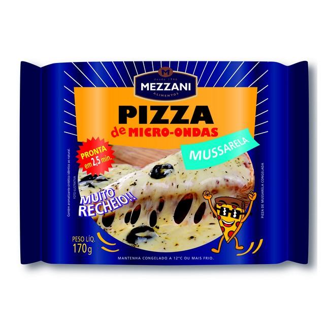 PIZZA MICRO MUSSARELA MEZZANI 170G