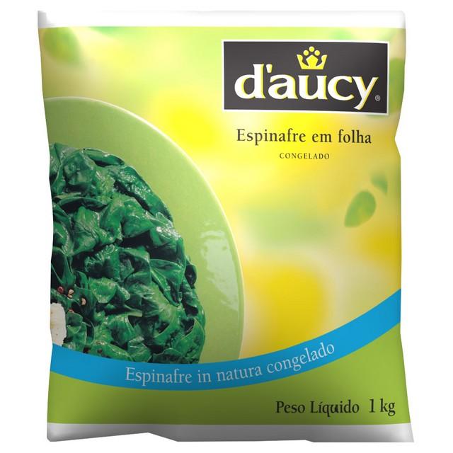 ESPINAFRE FOLHAS DAUCY 1KG