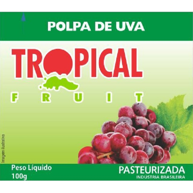POLPA UVA TROPICAL 100G