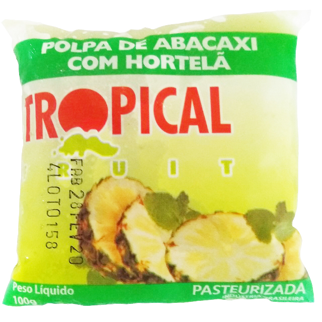 POLPA ABACAXI/HORTELA TROPICAL 100G