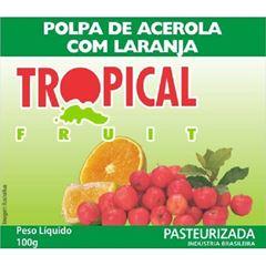 POLPA ACEROLA/LARANJA TROPICAL 100G