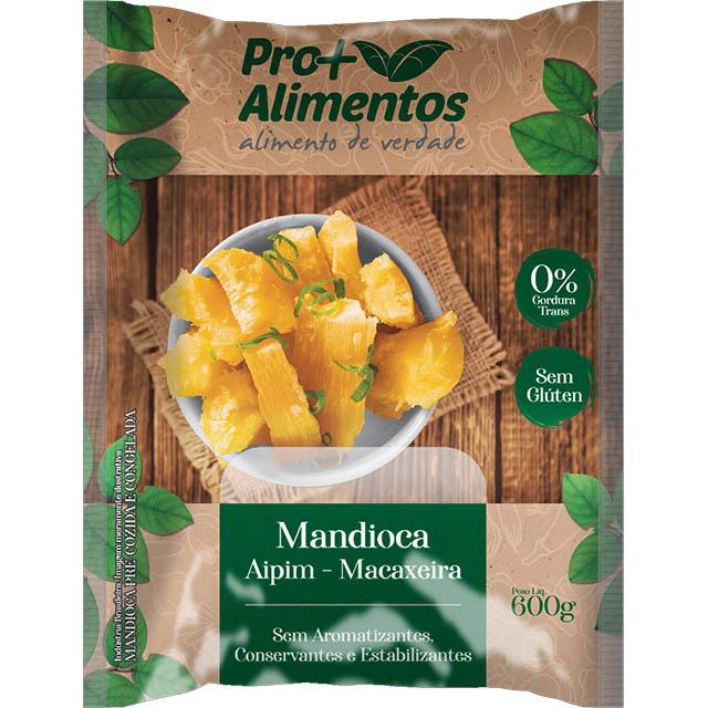 MANDIOCA PRE-COZIDA PRO+ 600G