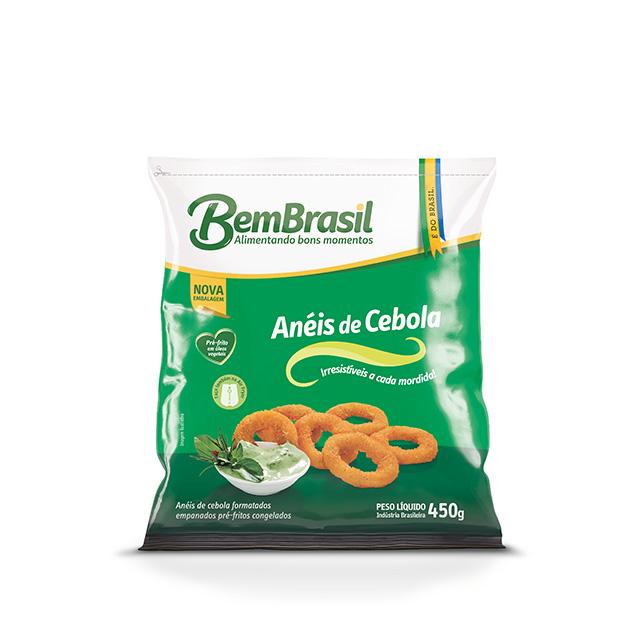 ANEIS DE CEBOLA EMP PRE-FRITOS BEM BRASIL 450G
