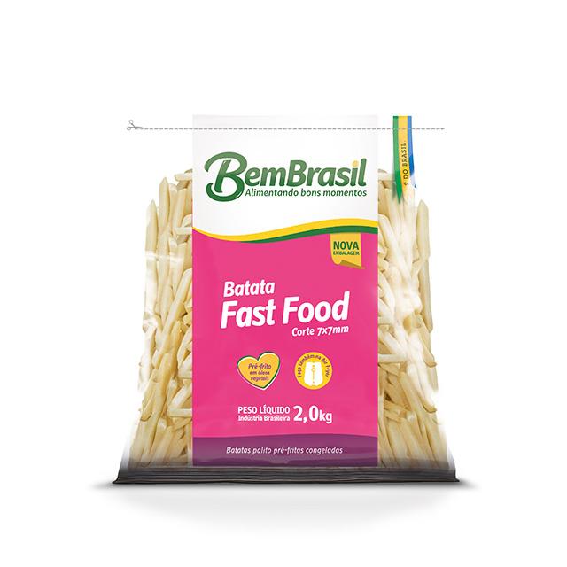 BEM BATATA FAST FOOD BEM BRASIL 2KG