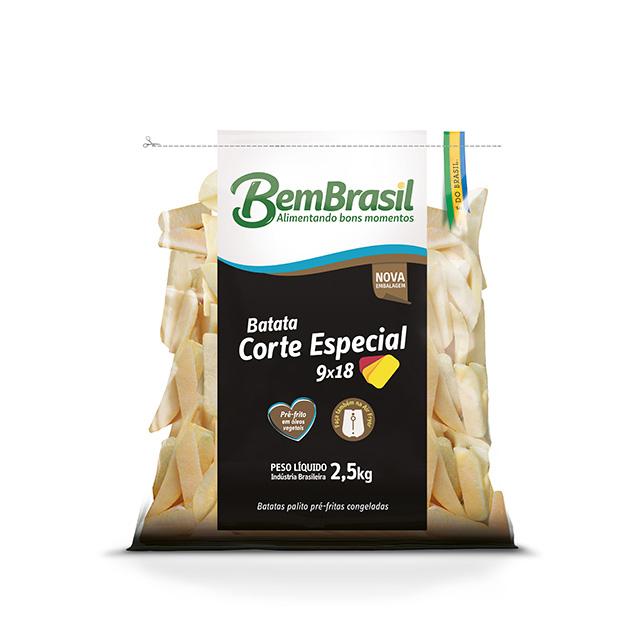 BEM BATATA CORTE ESPECIAL 9X18 BEM BRASIL 2,5KG