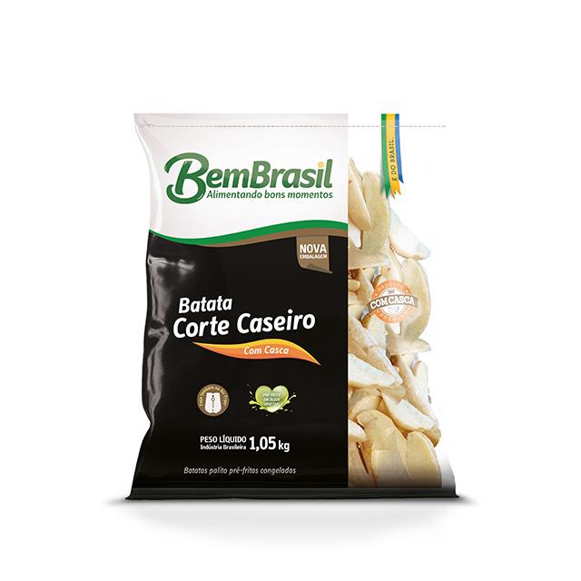 BEM BATATA CORTE CASEIRO BEM BRASIL 1,05KG