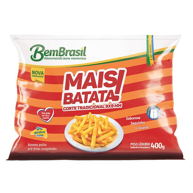 MAIS BATATA 9MM BEM BRASIL 400G