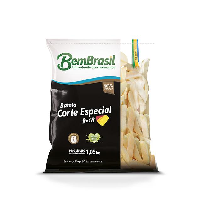 BEM BATATA CORTE ESPECIAL 9X18 BEM BRASIL 1,05KG