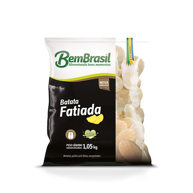BATATA FATIADA BEM BRASIL 1KG