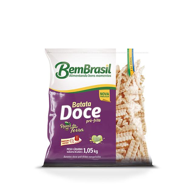 BATATA DOCE BEM BRASIL 1,05KG