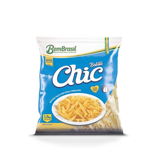 BATATA CHIC S/ CASCA BEM BRASIL 1,5KG