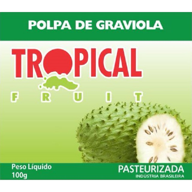 POLPA GRAVIOLA TROPICAL 100G