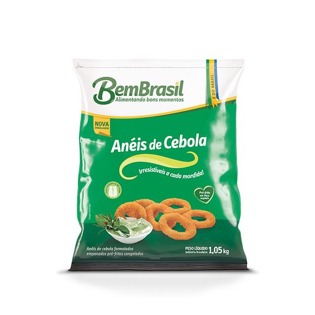 ANEIS DE CEBOLA EMP PRE-FRITOS BEM BRASIL 1,05KG