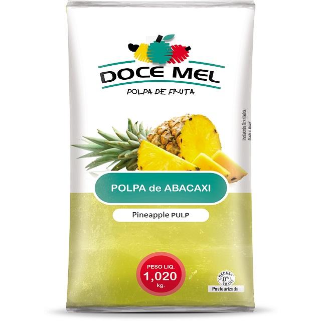 POLPA BARRA ABACAXI DOCE MEL 1KG