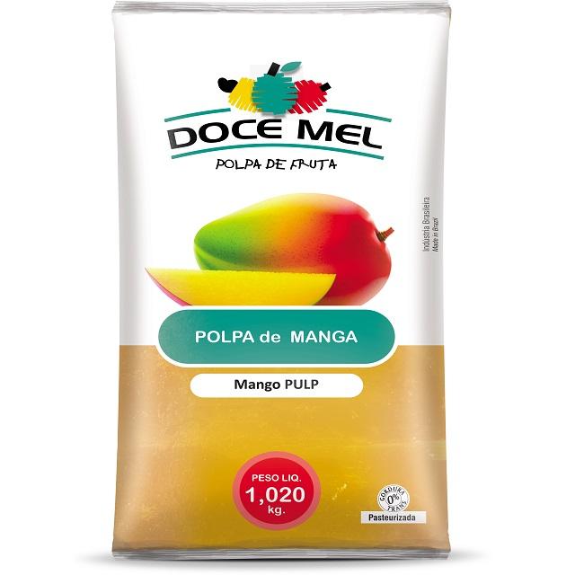 POLPA BARRA MANGA DOCE MEL 1KG