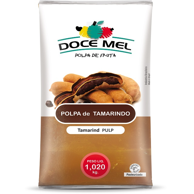 POLPA BARRA TAMARINDO DOCE MEL 1KG