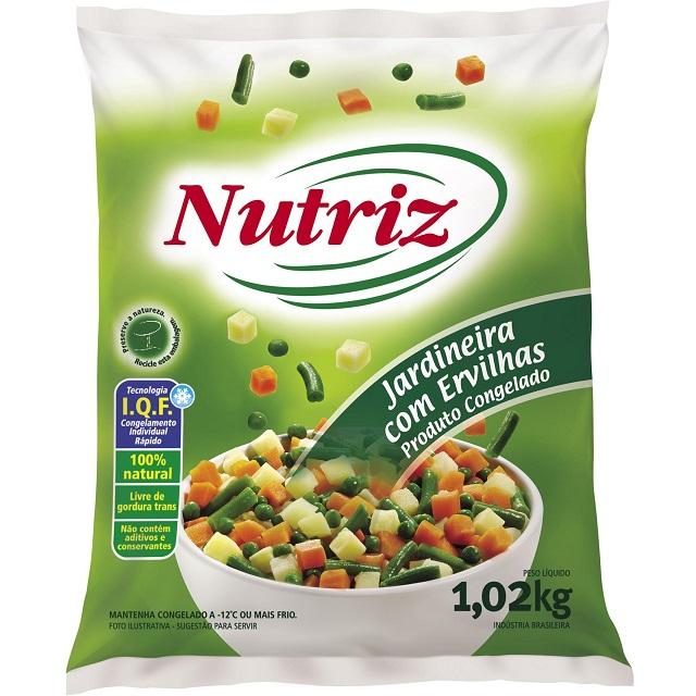 JARDINEIRA COM ERVILHA NAO COZIDA NUTRIZ 1,02KG