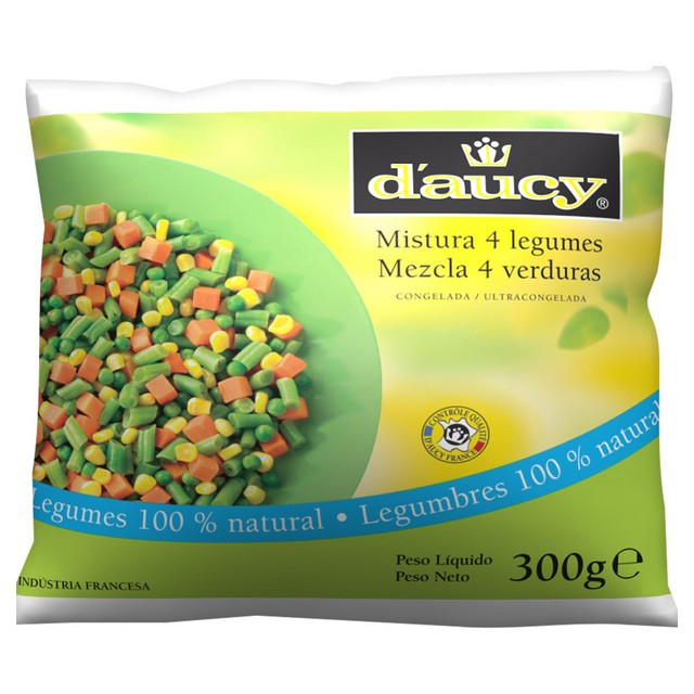 MIX 4 LEGUMES DAUCY 300G