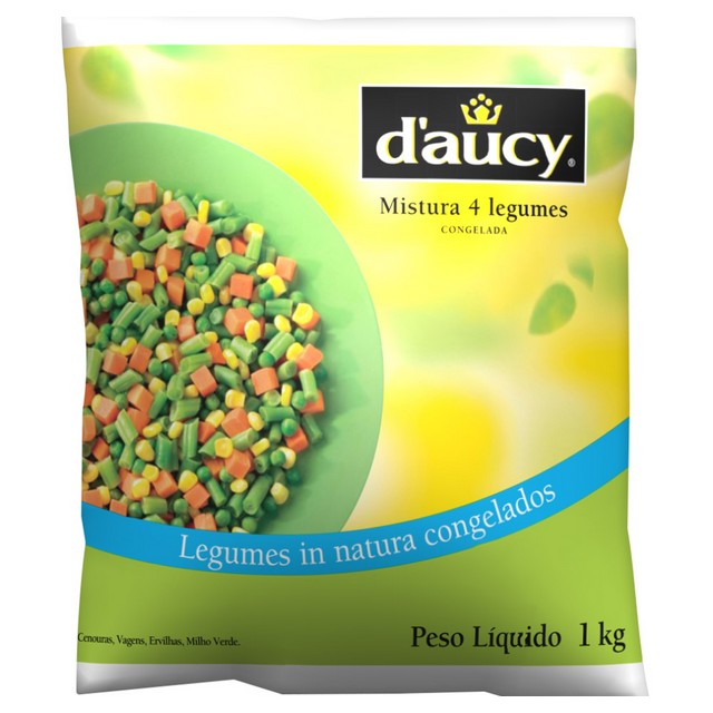 MIX 4 LEGUMES DAUCY 1KG