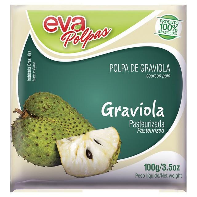 POLPA GRAVIOLA EVA 100G