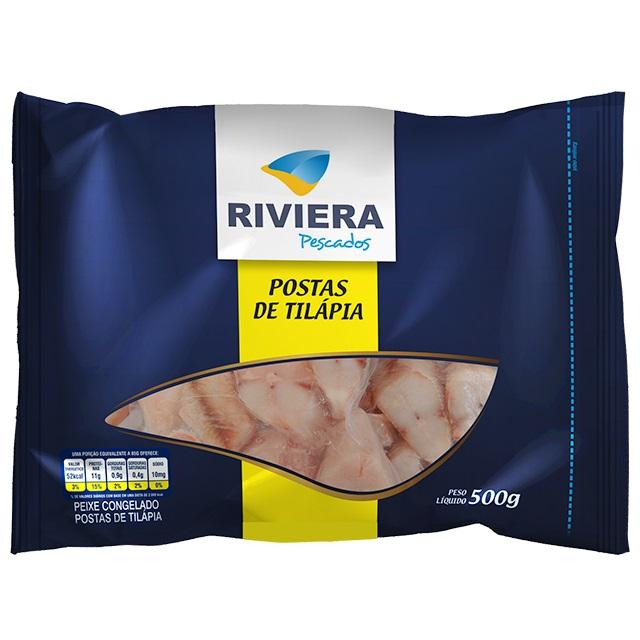 POSTAS DE TILAPIA RIVIERA PC30X500G