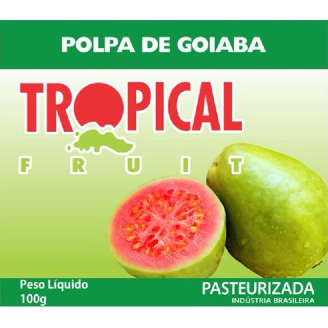 POLPA GOIABA TROPICAL 100G